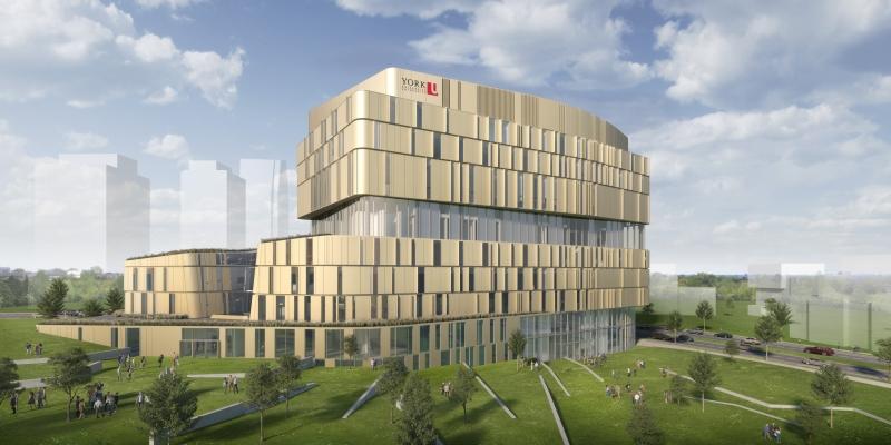 Markham Centre Campus rendering.