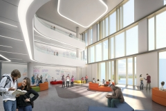 Interior - Academic Neighbourhood v1, Markham Centre Campus – for illustrative purposes only