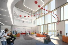 Interior - Academic Neighbourhood v2, Markham Centre Campus – for illustrative purposes only
